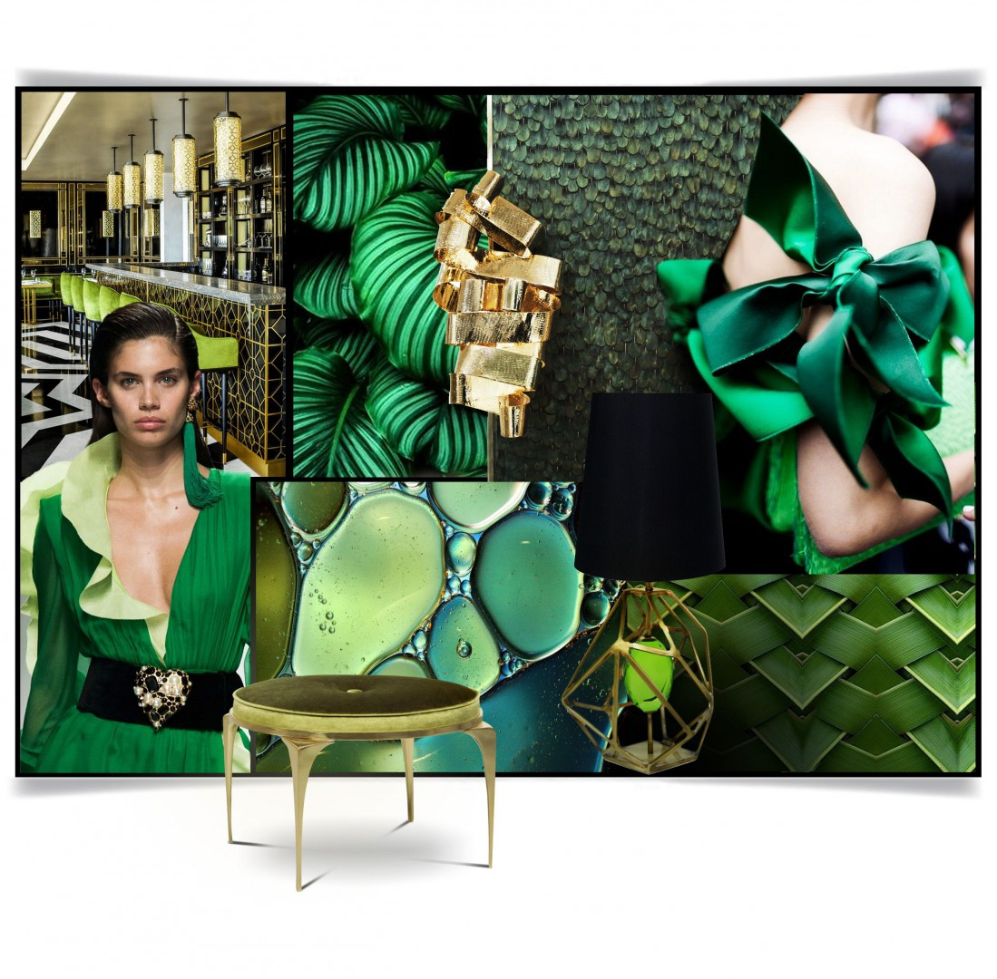 Greenery, soczysta zieleń kolor roku 2017 według Pantone. Fot. Koket