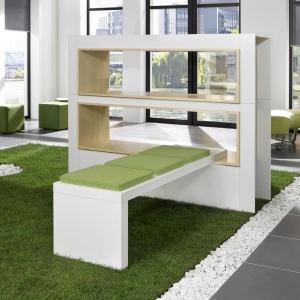 Siedziska Sand to świetne urozmaicenie biura lub miejsc użyteczności publicznej. Fot. Nowy Styl