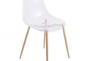 """""""Traspar"""" - transparentne krzesło"""