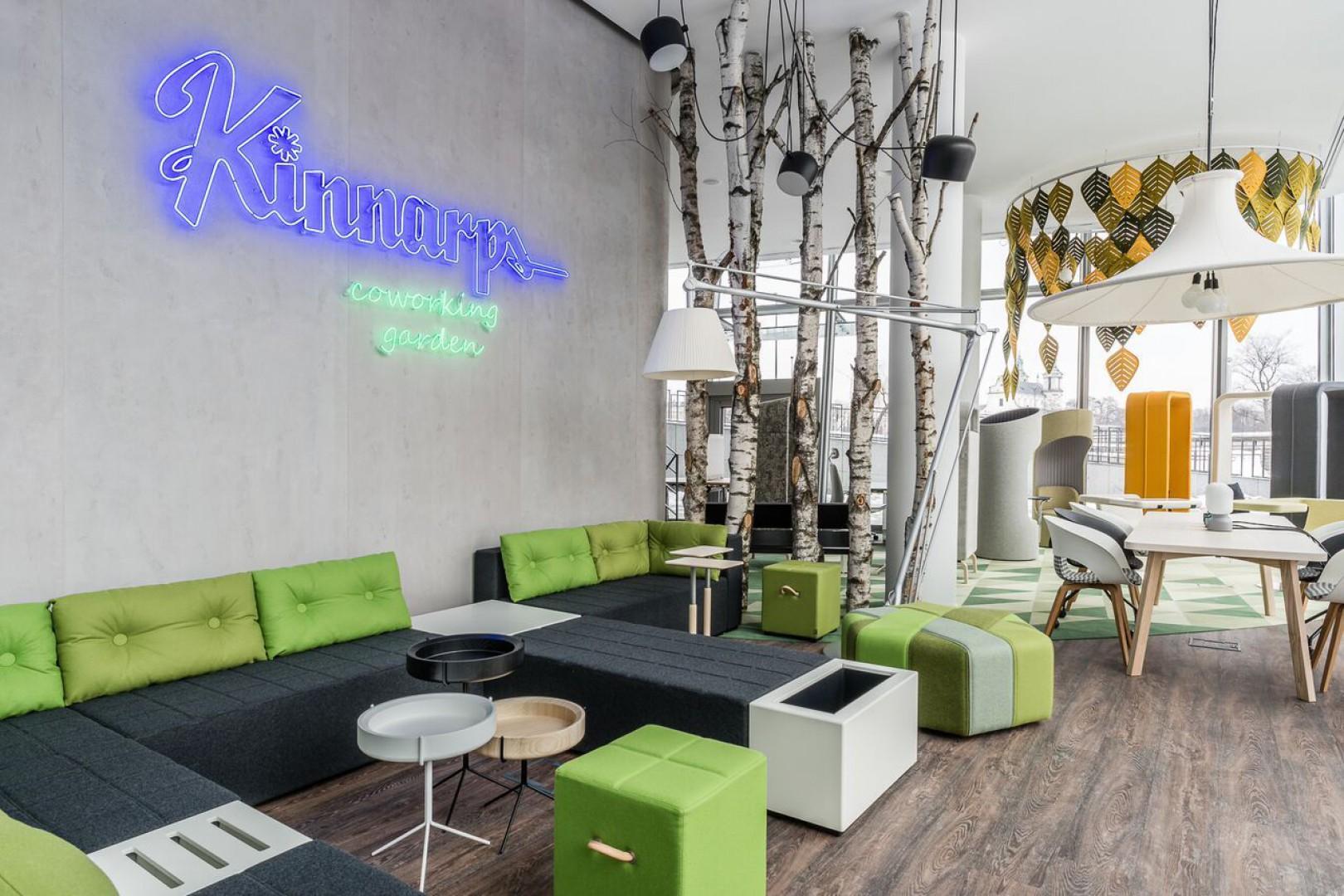 Nowy showroom firmy Kinnarps, otwarty w 2016 roku w Krakowie. Fot. Kinnarps