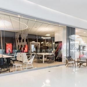 Nowy showroom firmy Kinnarps. Fot. Kinnarps