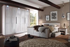 Sypialnia w kolorze dąb bielony