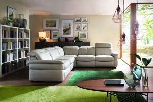 Meble w salonie. 10 pomysłów na wygodną sofę