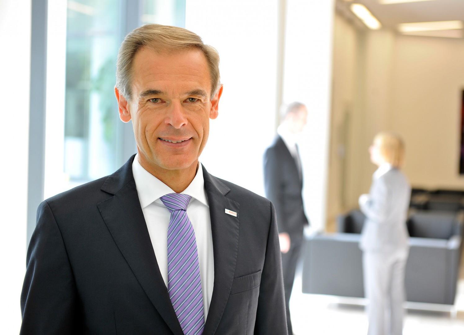 dr Volkmar Denner, prezes zarządu spółki Robert Bosch. Fot. Bosch