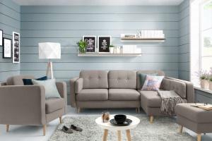 Sofa w salonie. Modele do małego mieszkania