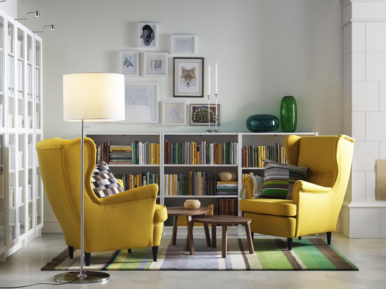 Kultowy fotel Strandmon firmy IKEA. Fot. IKEA