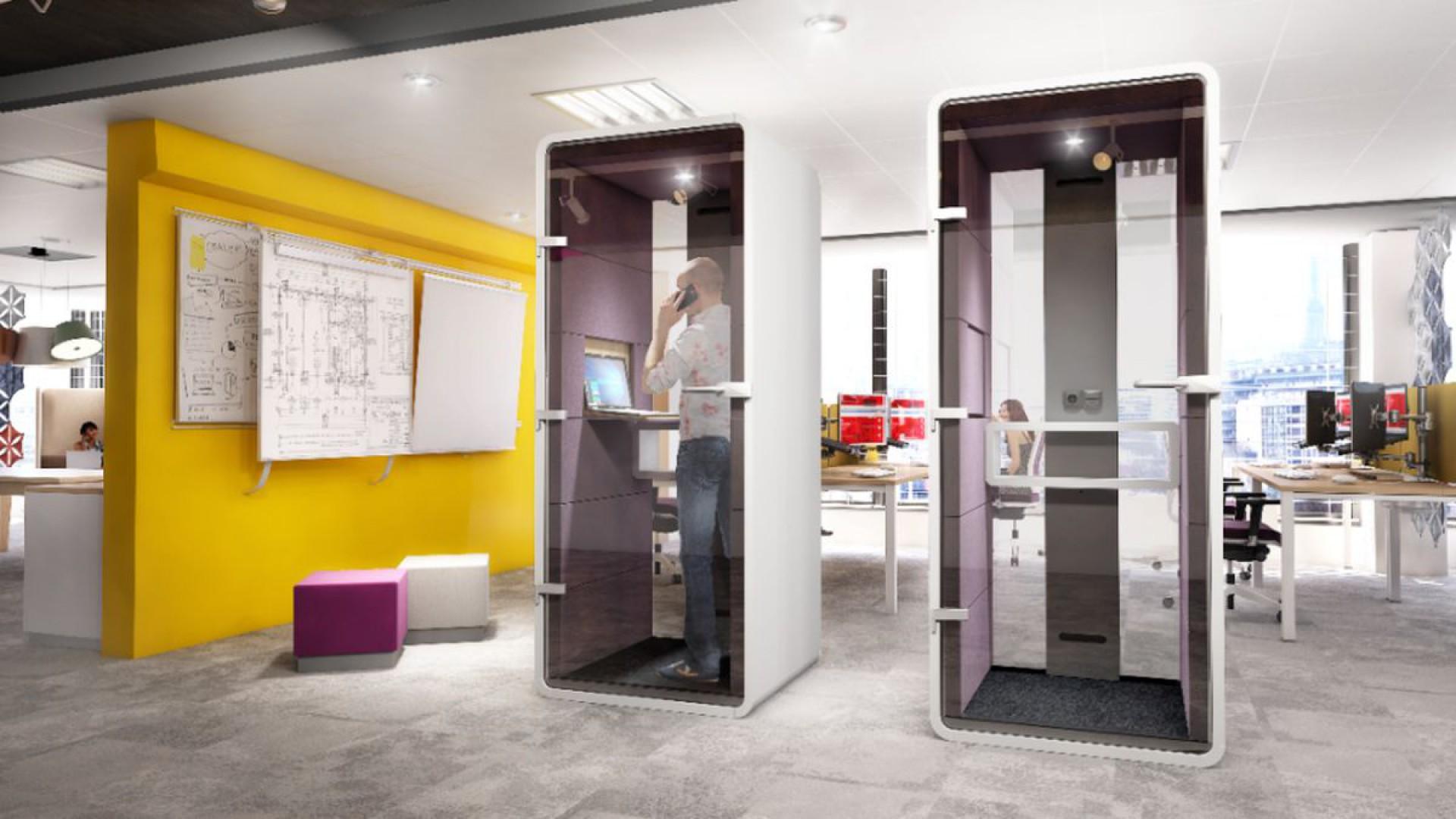 System #Hush Phone firmy Mikomax Smart Office. Fot. Mikomax Smart Office