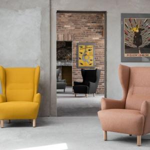 Fotele z kolekcji Muno firmy Marbet. Fot. Marbet