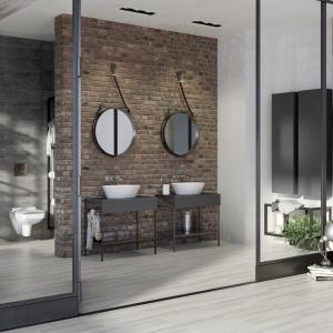 Kolekcja mebli łazienkowych Splendour doskonale pasuje do stylu loft. Fot. Opoczno