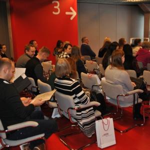 Spotkanie zorganizowane przez firmę Center-Mebel 9 lutego 2017 roku w Białymstoku. Fot. Mariusz Golak