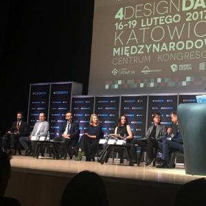 Panel inauguracyjny podczas 4 Design Days 2017. Fot. PTWP