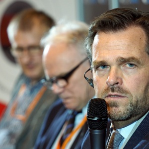 Panel dyskusyjny na Forum Branży Meblowej - Holger Max-Lang. Fot. PTWP