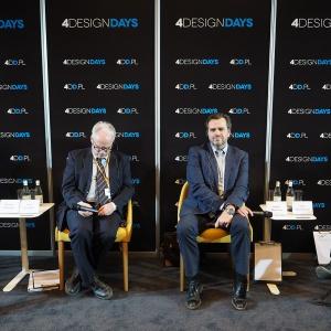 Panel dyskusyjny na Forum Branży Meblowej. Fot. PTWP
