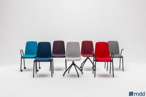 Nowoczesne krzesła do biur i sal konferencyjnych