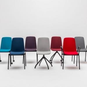 Krzesła Ultra z oferty firmy MDD. Projekt: Krystian Kowalski. Fot. MDD