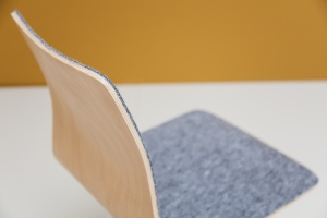 Krzesło z nowym wykończeniem