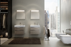 Minimalistyczne meble do łazienki