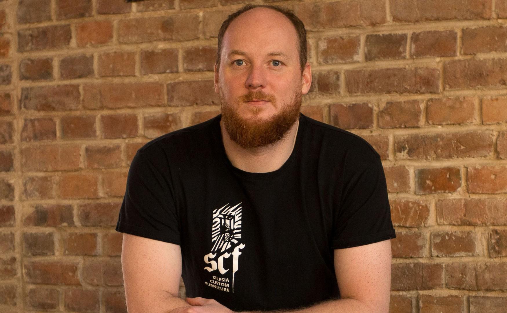 Michał Pośpiech, projektant,  twórca marki Silesia Custom Furniture. Fot. Archiwum