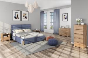 Meble w sypialni. Oryginalne pomysły na zagłówek łóżka