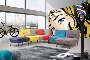 Sofy i narożniki bez boków - jak zaaranżować nowoczesny salon