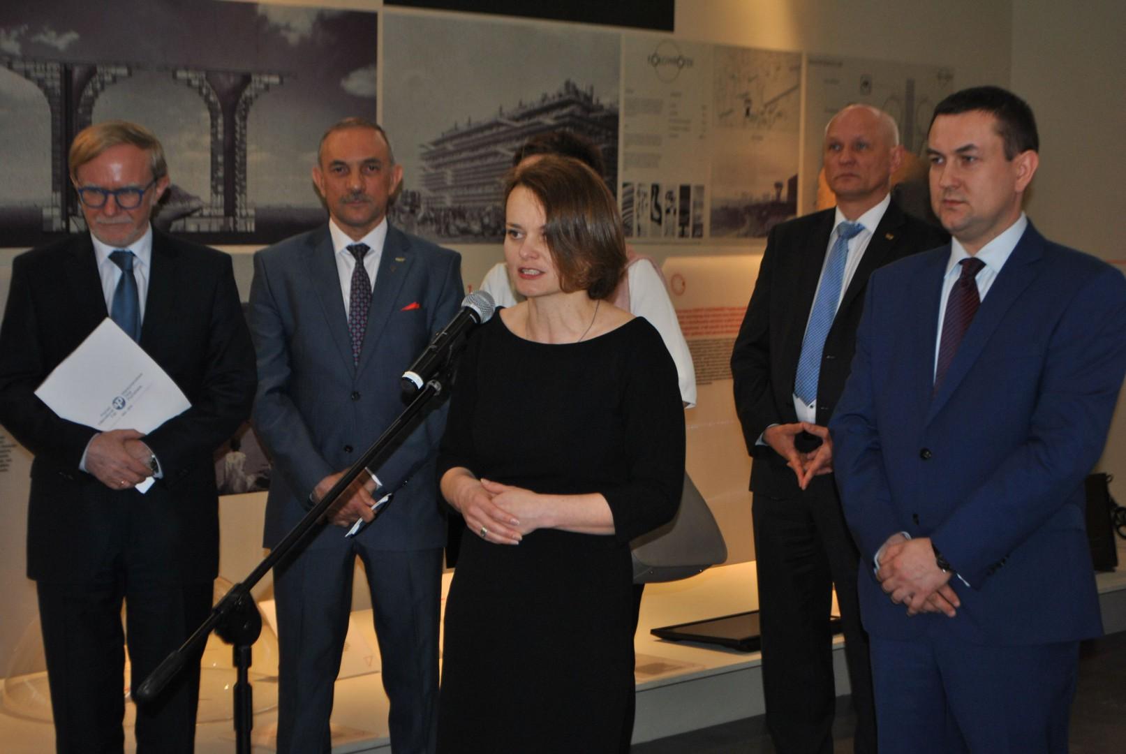 Jadwiga Emilewicz, podsekretarz stanu w Ministerstwie Rozwoju. Fot. Mariusz Golak