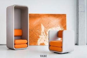 Meble marki Vank w showroomie Euforma