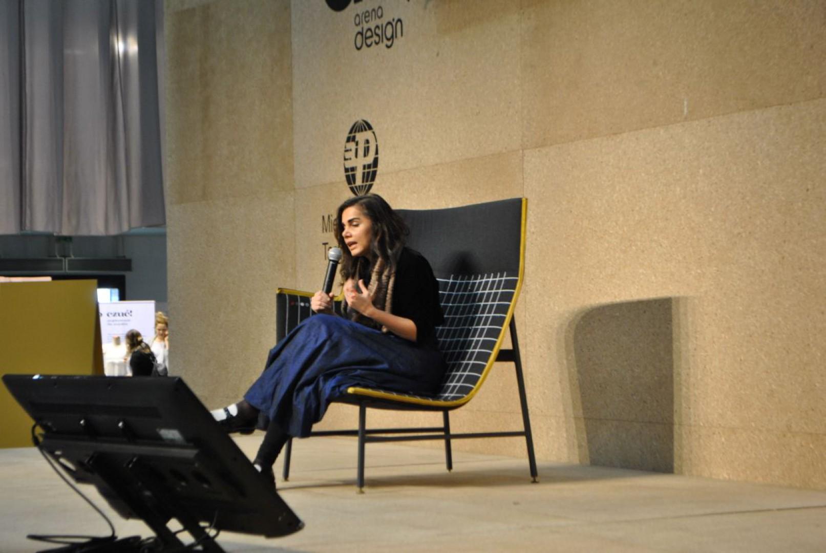 Nipa Doshi, współzałożycielka studia Doshi Levien, na Arena Design. Fot. Mariusz Golak