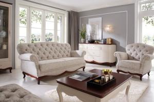Salon w stylu glamour - meble pełne elegancji i wdzięku