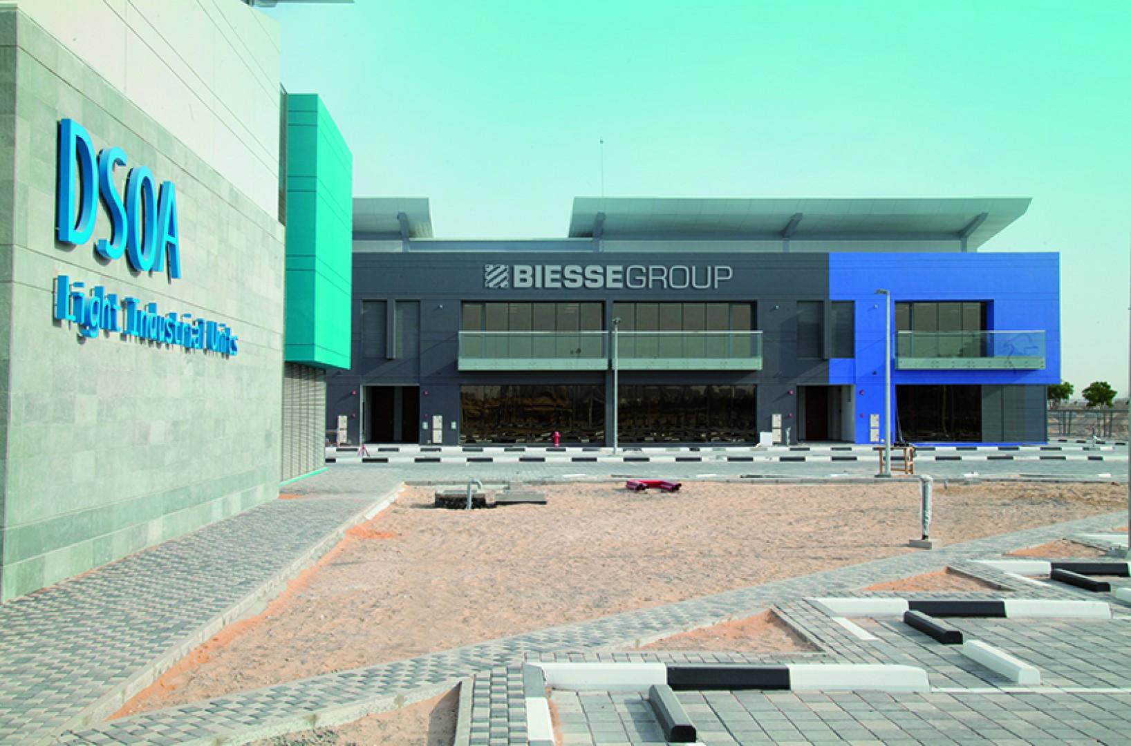 Campus Grupy Biesse w Dubaju. Fot. Grupa Biesse