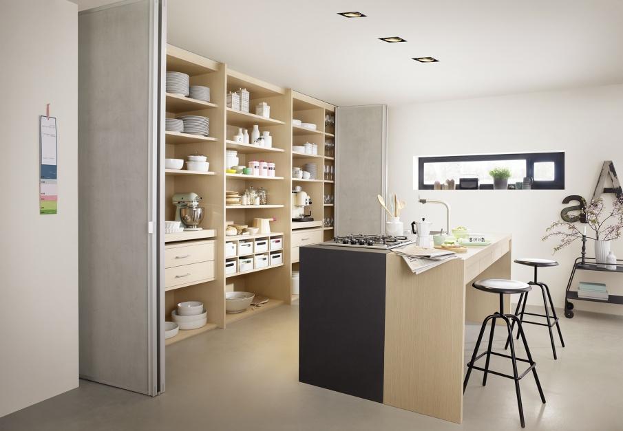 Urządzamy  Nowoczesna kuchnia Tak modnie ukryjesz zabudowę  meble com pl -> Urządzamy Mieszkanie Kuchnia