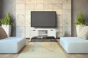 Praktyczna szafka pod telewizor