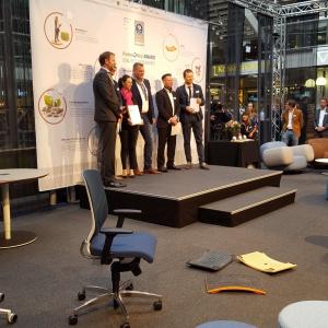 Ceremonia wręczenia nagród w Berlinie. Fot. Grupa Nowy Styl