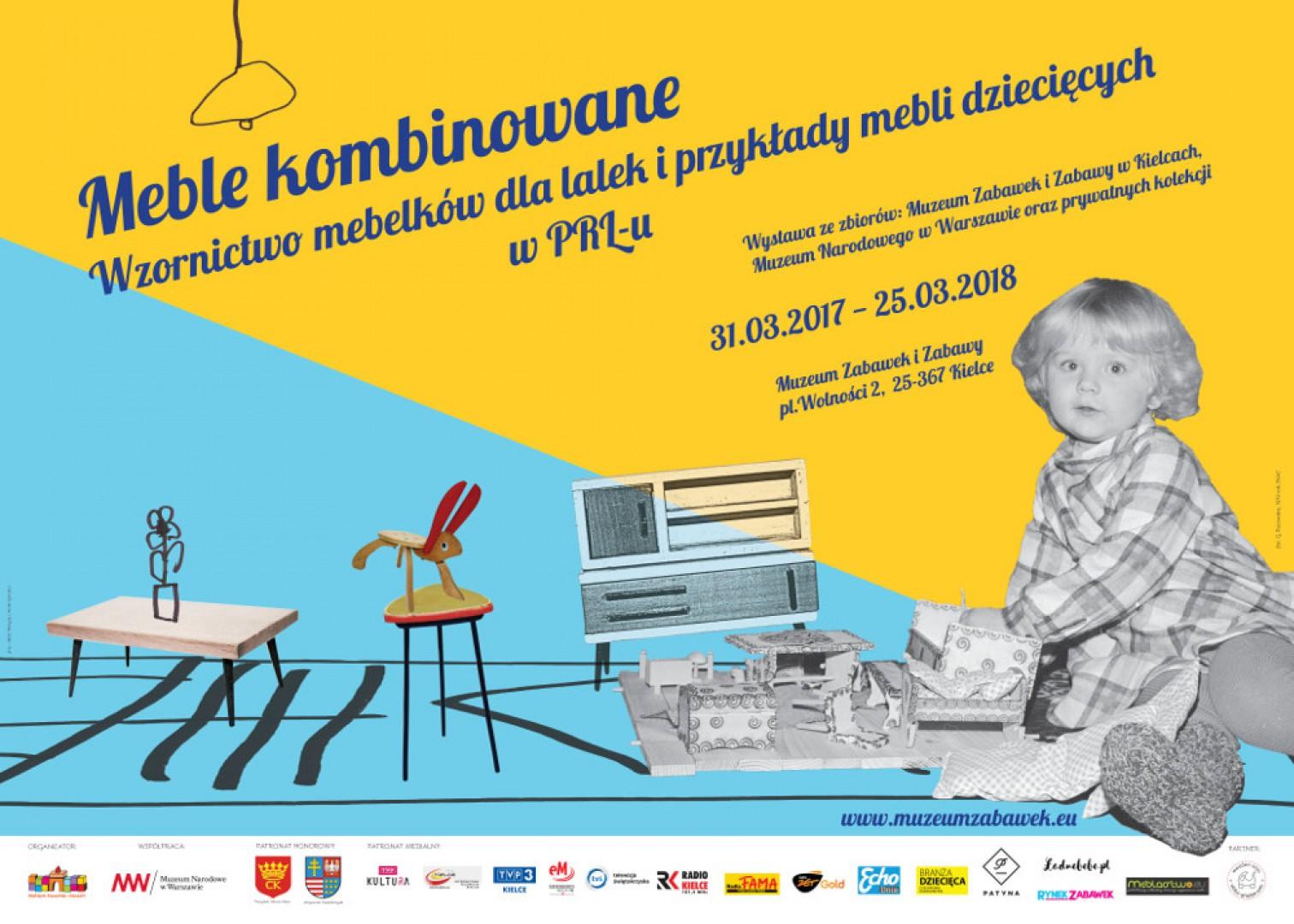 Wzornictwo Wystawa Mebli Dziecięcych I Projektów Z Czasów
