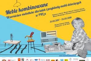 Wystawa mebli dziecięcych i projektów z czasów PRL-u