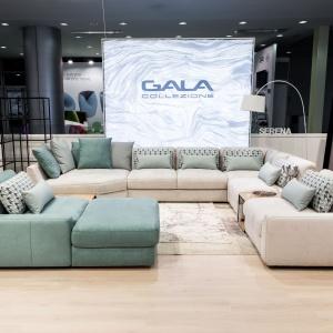 Modułowe zestawy wypoczynkowe. System modułowy Serena firmy Gala Collezione. Fot. Gala Collezione