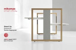 """Biurko Mikomax Smart Office z nagrodą """"Red Dot"""""""