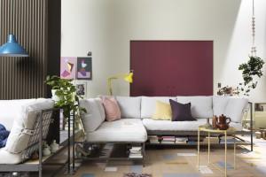 Sofa w salonie. Śliczne modele w skandynawskim stylu
