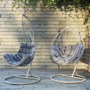 Fotele Roxy i Rubicon. Wygodne siedzisko zapewnia komfort wypoczynku. Fot. Miloo