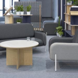 Fotel i kanapa CORBU / projekt: Grynasz Studio / producent: Marbet Style