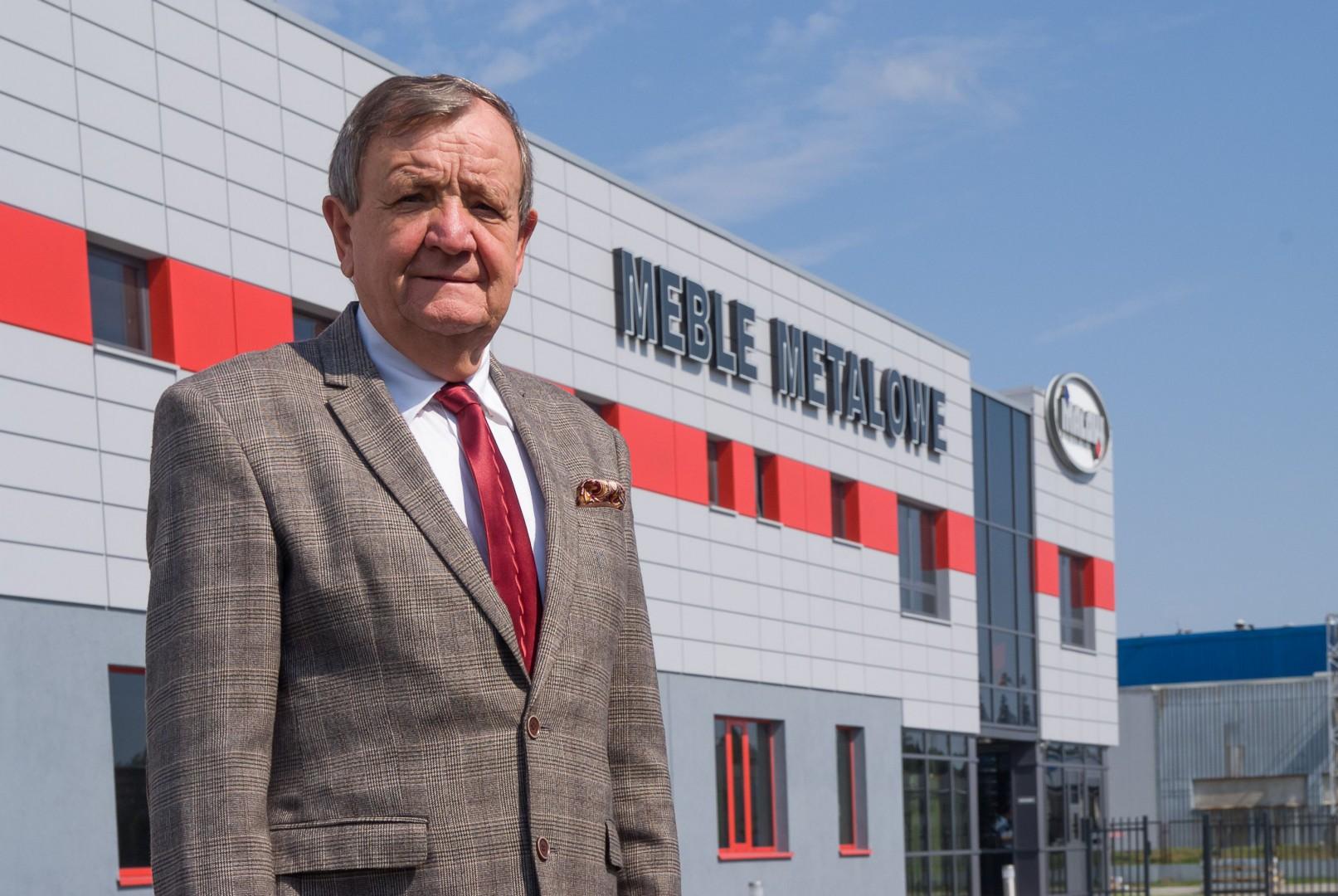 Henryk Owsiejew, prezes zarządu firmy Malow. Fot. Malow