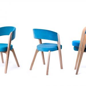 Krzesła z kolekcji Argo. Fot. Paged