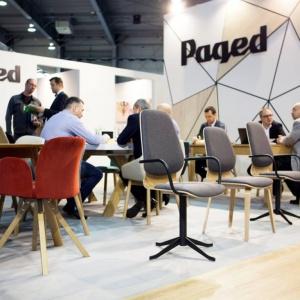 Nowe kolekcje mebli zaprojetowanych przez Husarska Design Studio na stoisku firmy Paged na targach