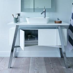 Seria mebli łazienkowych Cape Cod firmy Duravit. Projekt: Philippe Starck. Fot. Duravit