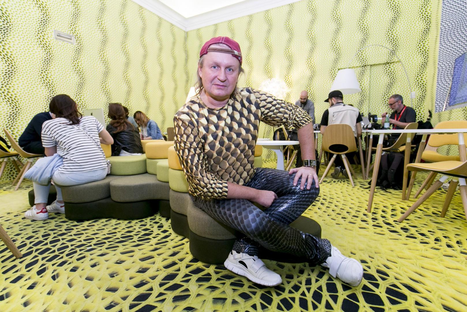 Przemysław Mac Stopa, projektant. Fot. Grupa Nowy Styl