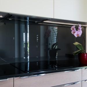 Do wykorzystania w zabudowie kuchennej doskonale nadaje się też szkło Saint Gobain Glass Planilaque Evolution. Fot. Saint Gobain Glass