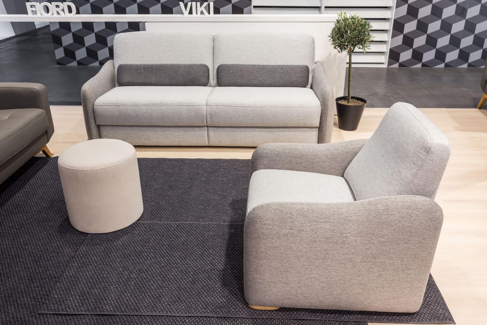 Zestaw (sofa + fotel) Viki marki Sweet Sit. Fot. Gala Collezione