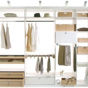 System organizacji garderoby firmy Häfele. Fot. Häfele