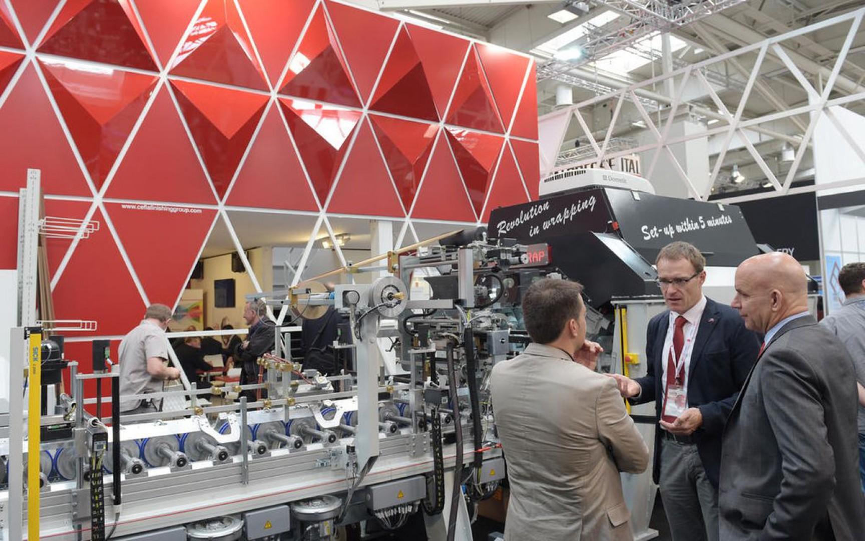 Ligna to najważniejsza na świecie impreza wystawiennicza prezentująca maszyny, urządzenia i narzędzia do obróbki drewna. Fot. Deutsche Messe