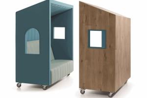 Kabiny do przestrzeni open space