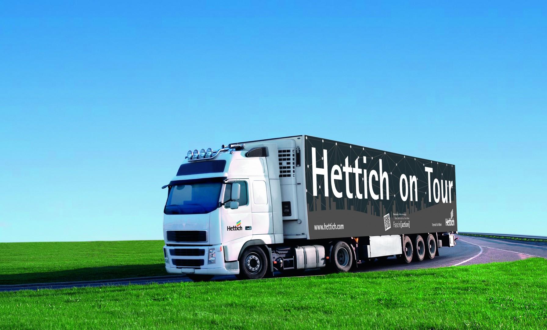 Showtruck firmy Hettich. Fot. Hettich
